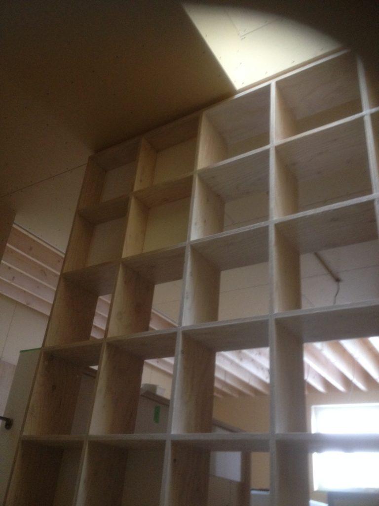札幌市宮の森テラスハウス新築什器製作設置工事