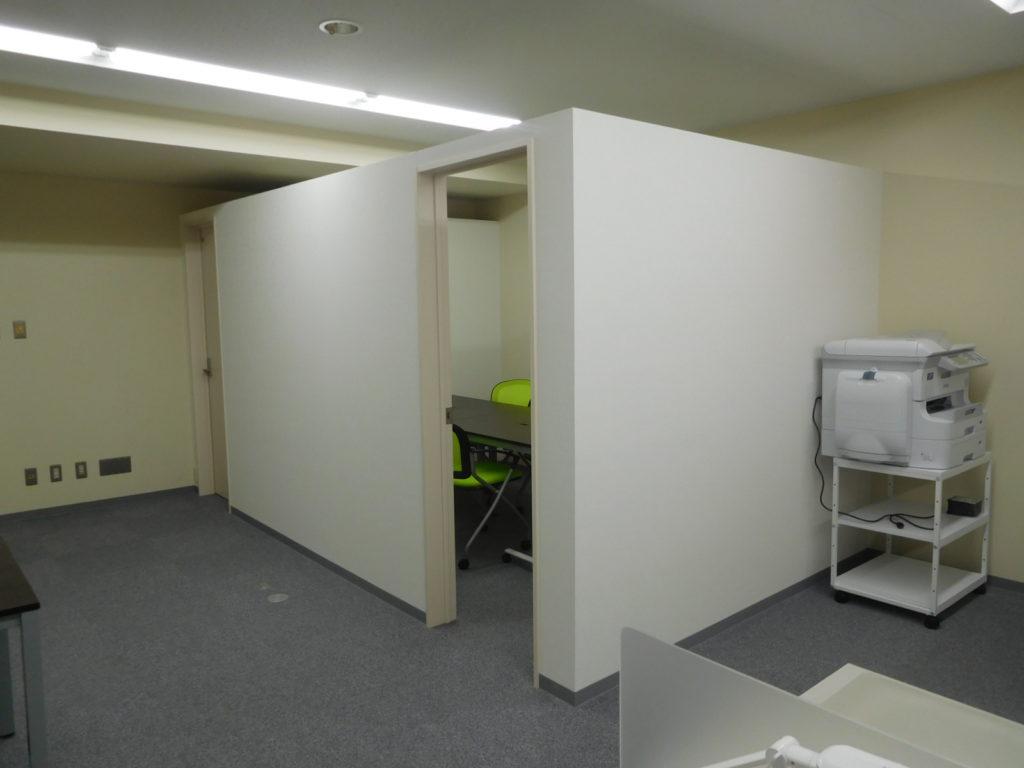 旭川駅前オフィスビル内装仕上工事