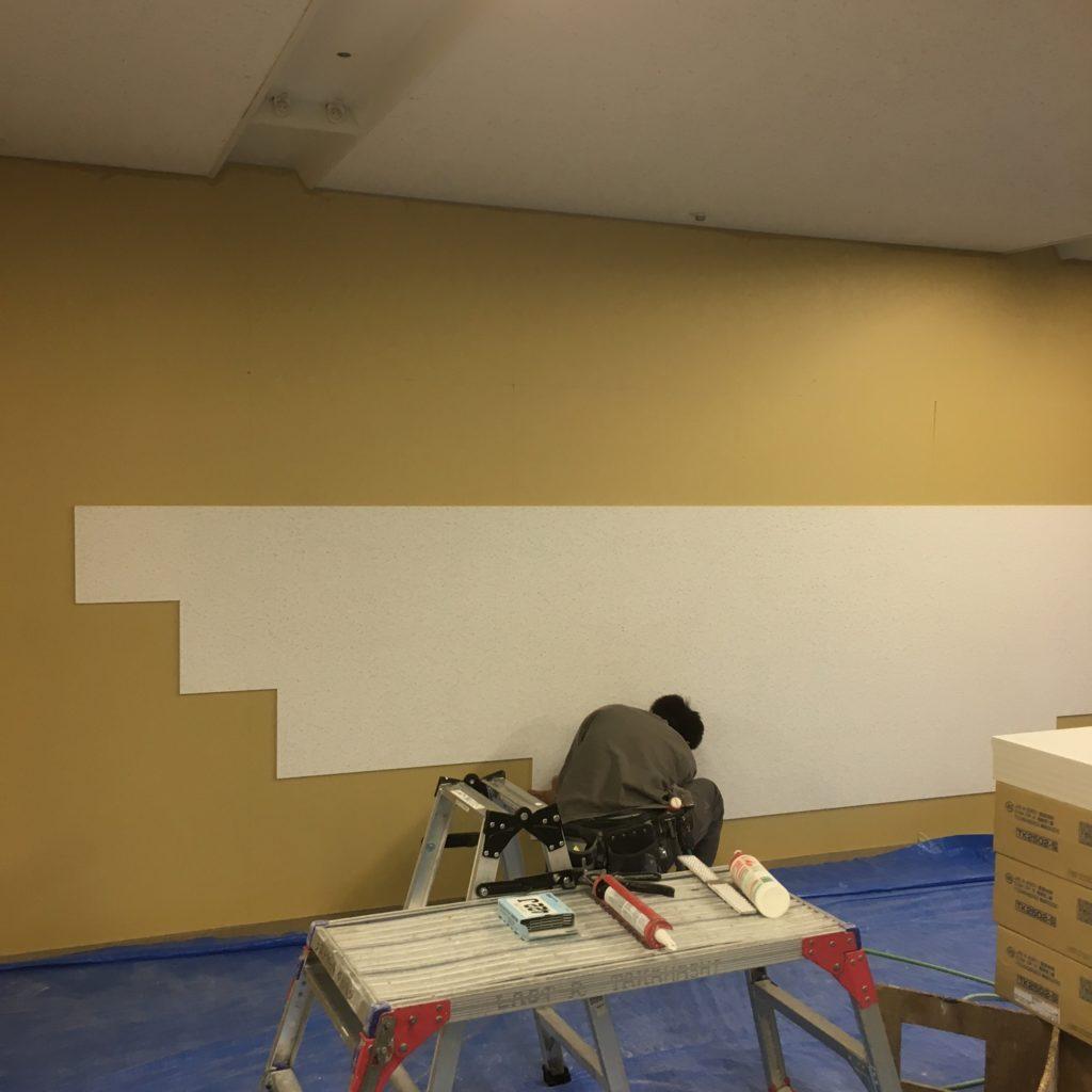 札幌市中央区オフィスビル教室防音対策工事