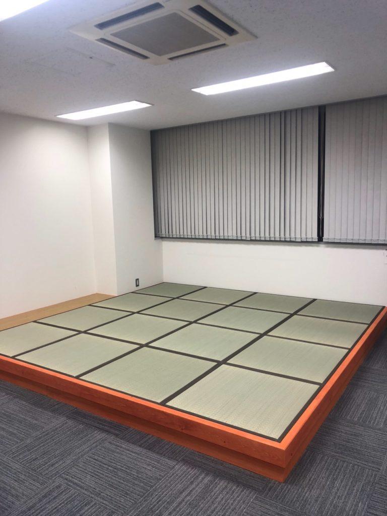 札幌市中央区オフィス和室製作設置工事