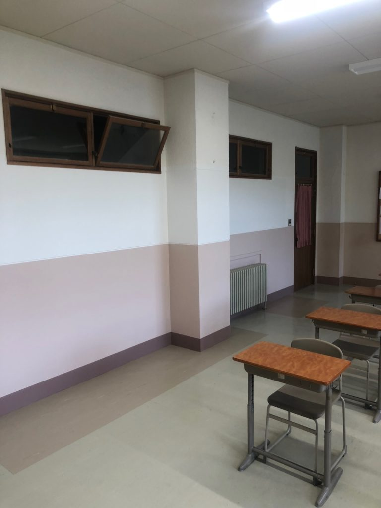宮の森 教室改修工事