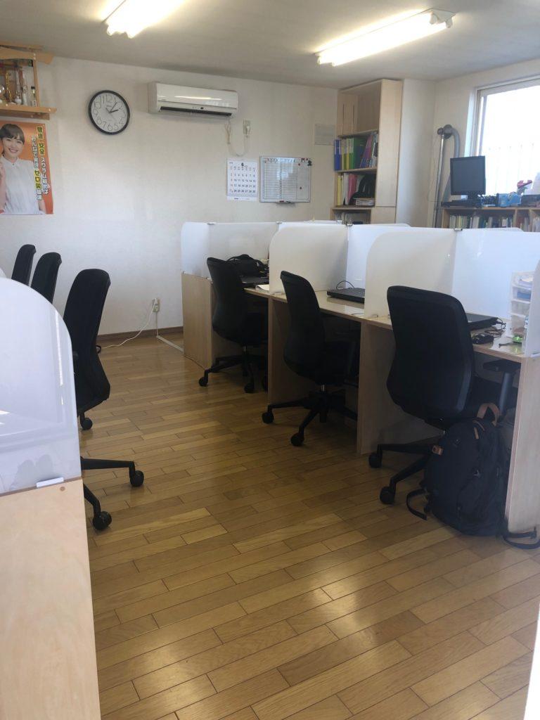 オフィス内装仕上げ工事1F,2F